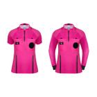*New Style* Women Soccer Referee Jersey - PINK