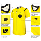 United Attire Referee Jersey (Yellow)