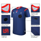 United Attire Referee Jersey (Navy)