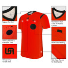 United Attire Referee Jersey (Red)