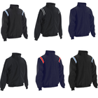 "Baseball Umpire Full-Zip ""Major League"" Style Jacket"