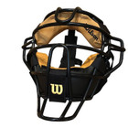 Wilson Dyna-Lite Steel Face Mask w/Leather Pads