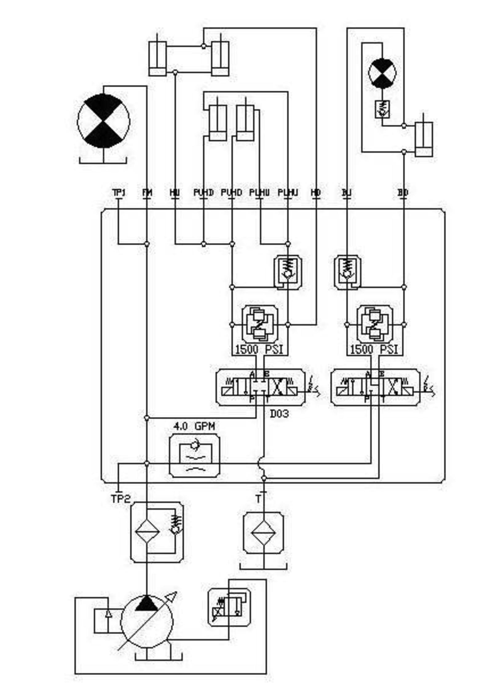 osprey hydraulic schematic rh buysweeperparts com hydraulic schematic symbols library free hydraulic schematic software