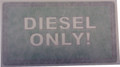 Sticker, Diesel Fuel Only