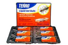 Terro Liquid Ant Pest Control Baits 6 Stations per Box