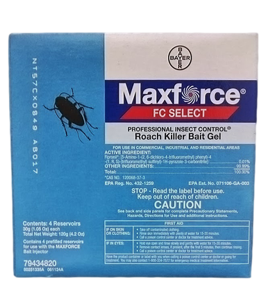 Maxforce FC Select Roach bait gel front