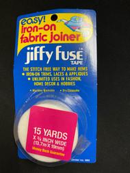 "Jiffy Fuse Iron-On Hem Tape 3/4"" x 15 yards"