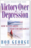 Victory Over Depression book with study guide included at the end of the book.