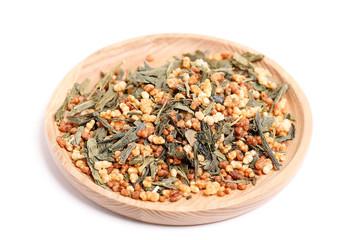 japanese genmaicha green tea