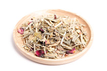 Organic, loose leaf lemongrass and ginger tea