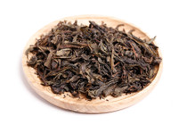 organic chinese oolong flat leaf tea