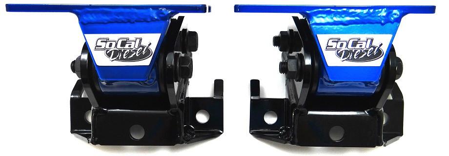 SoCal Diesel HP Duramax Motor Mounts