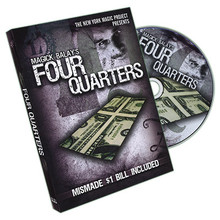 Four Quarters (With Mismade US Dollar) by Magick Balay - DVD