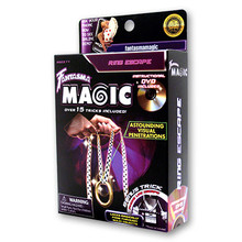 Ring Escape by Magick Balay and Fantasma Magic - DVD