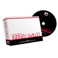 Infinity Wallet (w/DVD) by Peter Nardi