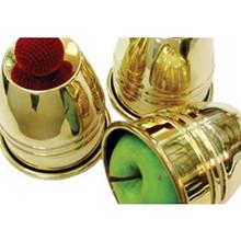 Giant Cups & Balls- Brass