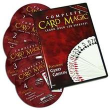 Complete Card Magic - 4 DVD Set