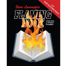 Flaming Book (Blank)