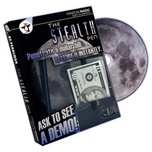 Stealth Pen (DVD and Props) by Oz Pearlman - DVD