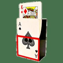 Jumbo Card Riser Trick by Sorcery Mfg