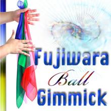 Fujiwara Ball Gimmick (w/DVD, Bigger Size, up to three 18 inch silks) by Fujiwara