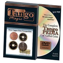 Silver Copper Brass Transposition