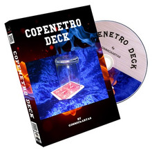 Copenetro Deck (Red/Blue) by Gimmickartas