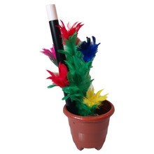 Anti-Gravity Flower Pot( 2 pcs items - wand and gimmick ) by Premium Magic