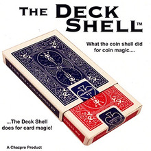 Deck Shell (Red) with DVD by Chazpro Magic & Collectibles
