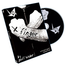 X Finger by Geoff Weber- DVD
