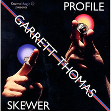 Profile Skewer (DVD and Gimmick) by Garrett Thomas and Kozmomagic