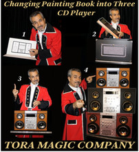 Changing Book to 3 CD Players - Tora
