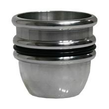 Harmonica Chop Cup (Aluminium) by Leo Smetsers