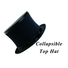 Top Hat Collapsible Premium Magic (Black)