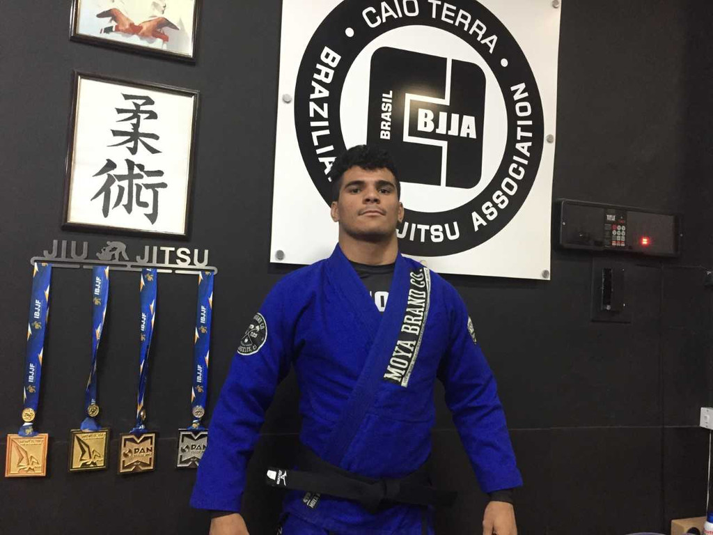 Newest Member of the Family: Rudson Mateus (Black Belt - CTA) 2017!