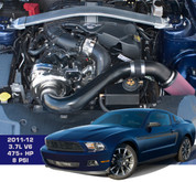 Intercooled Supercharger System and Tuner Kit for 2011-12 3.7L  Mustang V6 - 475+HP!