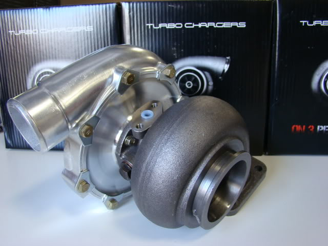 On 3 Performance 76mm Ceramic Ball Bearing Turbocharger
