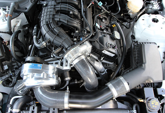 2015-2016 Mustang 3 7L Procharger P-1SC Supercharger System