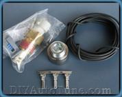 MegaSquirt MSPNP and DIYPNP IAT Sensor Kit - Steel Bung Universal