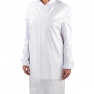 Disposable Apron White