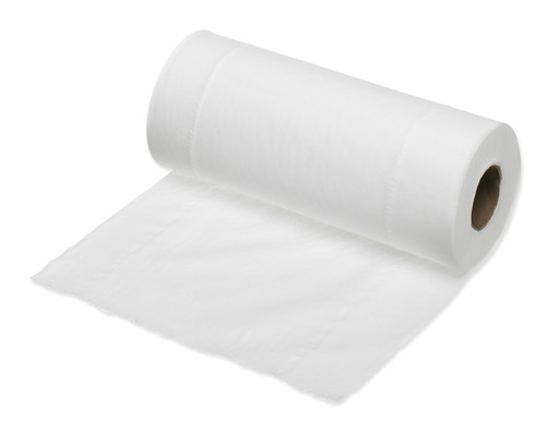 white wiper roll