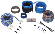 Rockville RWK8CU 8 AWG Gauge 100% Copper Complete Amp Installation Wire Kit OFC
