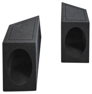 "6x9"" Speaker Box Enclosures 4 Rear Well w/Bedliner For 1987-95 Jeep Wrangler YJ"