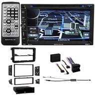 Navigation/DVD/iPhone/USB Bluetooth Receiver For 2006-2009 Volkswagen Rabbit VW