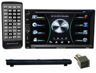 2003-2004 Land Rover Discovery DVD/iPhone/Pandora/Spotify/Bluetooth Receiver