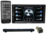 1999-2002 Land Rover Discovery II DVD/iPhone/Pandora/Spotify/Bluetooth Receiver