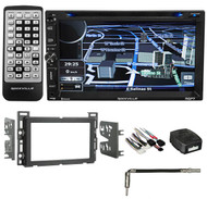 2009 Pontiac G6 Navigation/GPS/DVD/iPhone/Pandora/Bluetooth/USB Player Receiver