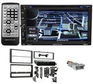 Navigation/GPS/DVD/iPhone/Pandora/Bluetooth USB Receiver For 03-08 Pontiac Vibe