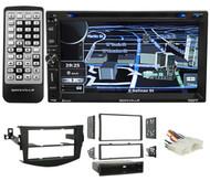 Navigation/GPS/DVD/iPhone/Pandora/Bluetooth/USB Receiver For 2006-12 Toyota Rav4