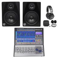 PRESONUS Studiolive SL-1602 USB 16.0.2 16-Ch. Digital Mixer+Monitors+Headphones